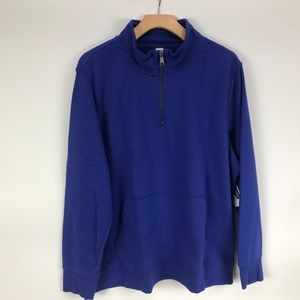 Old Navy French Terry 1/4 Zip Pullover